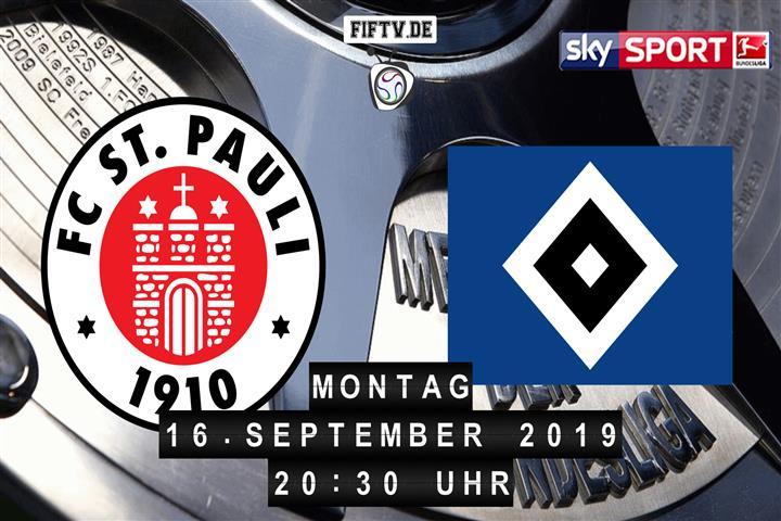 FC St. Pauli - Hamburger SV Spielankündigung