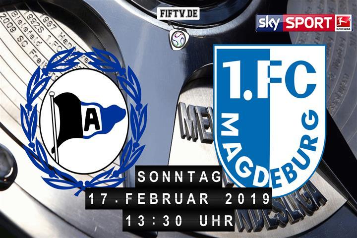 Arminia Bielefeld - 1.FC Magdeburg Spielankündigung