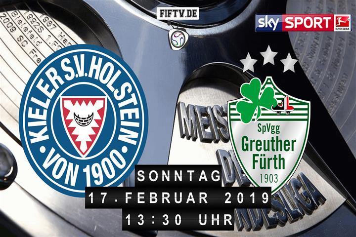 Holstein Kiel - SpVgg Greuther Fürth Spielankündigung