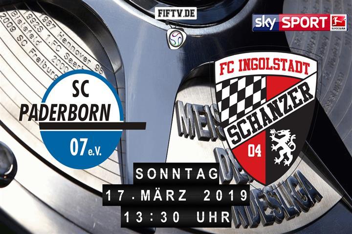SC Paderborn 07 - FC Ingolstadt Spielankündigung