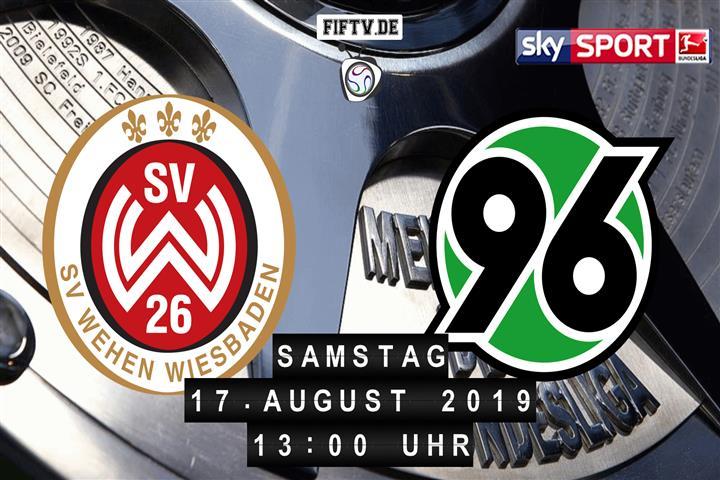 SV Wehen Wiesbaden - Hannover 96 Spielankündigung