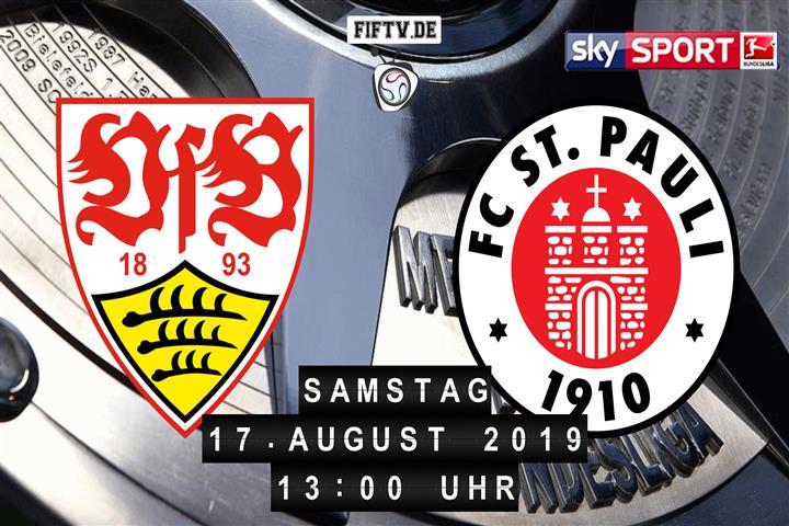 VfB Stuttgart - FC St. Pauli Spielankündigung