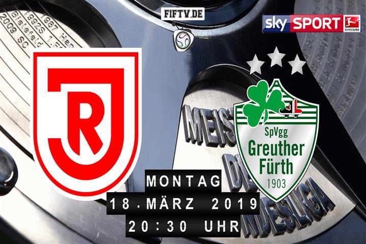 Jahn Regensburg - SpVgg Greuther Fürth Spielankündigung