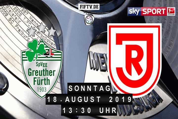 SpVgg Greuther Fürth - Jahn Regensburg Spielankündigung