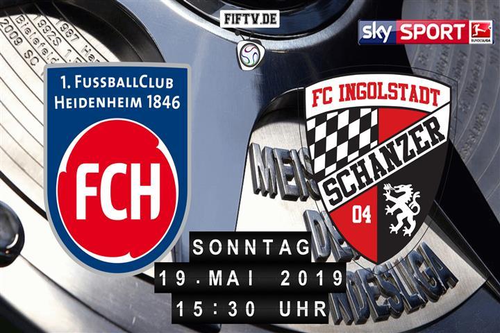 1.FC Heidenheim - FC Ingolstadt Spielankündigung