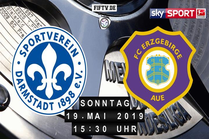 Darmstadt 98 - Erzgebirge Aue Spielankündigung
