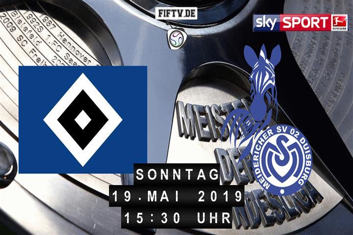 Hamburger SV - MSV Duisburg Spielankündigung
