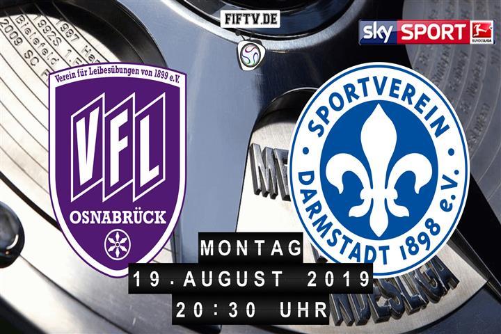 VfL Osnabrück - Darmstadt 98 Spielankündigung