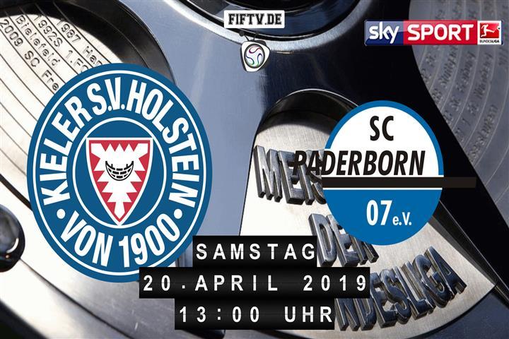Holstein Kiel - SC Paderborn 07 Spielankündigung