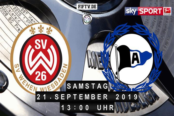 SV Wehen Wiesbaden - Arminia Bielefeld Spielankündigung