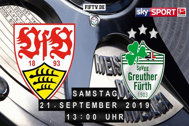 VfB Stuttgart - SpVgg Greuther Fürth Spielankündigung