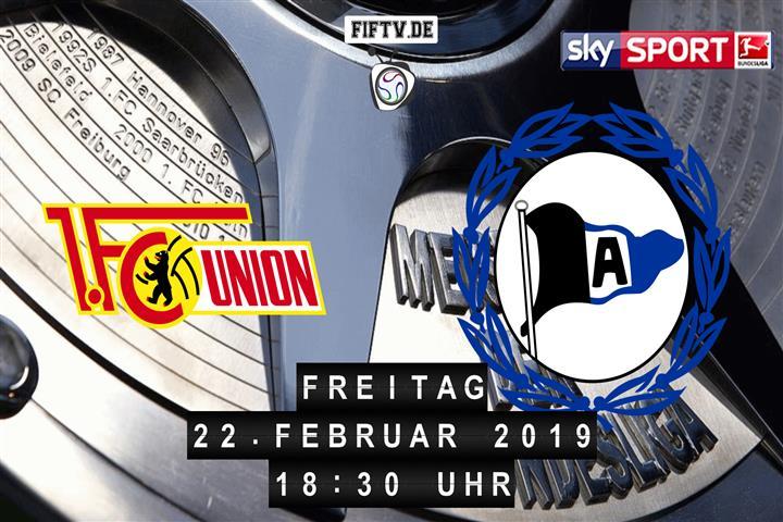 Union Berlin - Arminia Bielefeld Spielankündigung