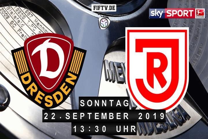Dynamo Dresden - Jahn Regensburg Spielankündigung
