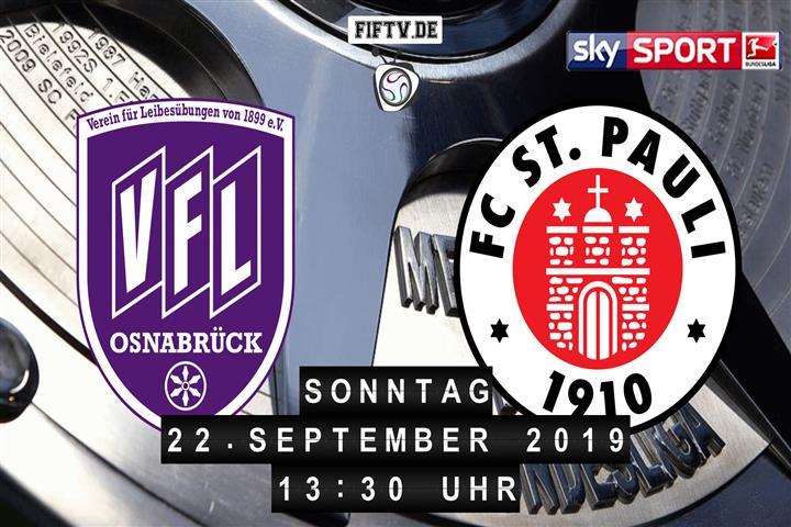 VfL Osnabrück - FC St. Pauli Spielankündigung