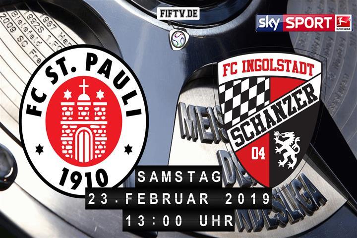 FC St. Pauli - FC Ingolstadt Spielankündigung