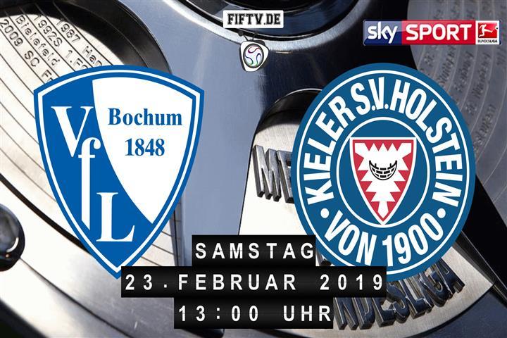VfL Bochum - Holstein Kiel Spielankündigung