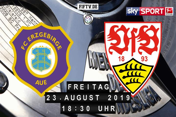 Erzgebirge Aue - VfB Stuttgart Spielankündigung