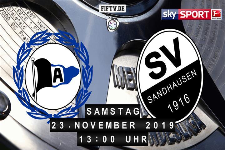 Arminia Bielefeld - SV Sandhausen Spielankündigung