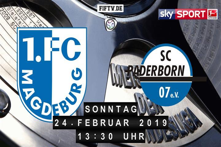 1.FC Magdeburg - SC Paderborn 07 Spielankündigung