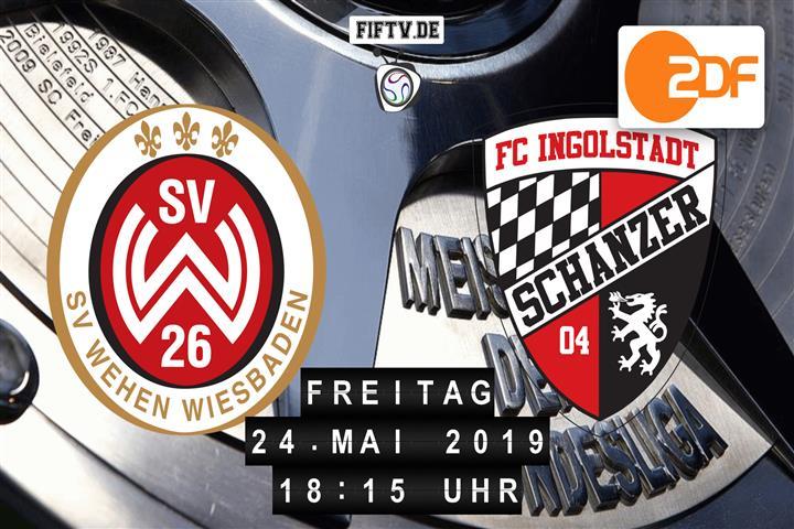SV Wehen-Wiesbaden - FC Ingolstadt Spielankündigung