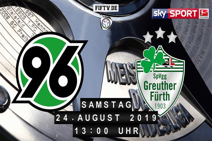 Hannover 96 - SpVgg Greuther Fürth Spielankündigung