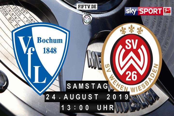VfL Bochum - SV Wehen Wiesbaden Spielankündigung