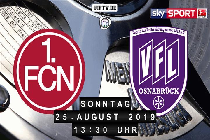 1.FC Nürnberg - VfL Osnabrück Spielankündigung