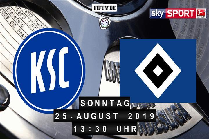 Karlsruher SC - Hamburger SV Spielankündigung