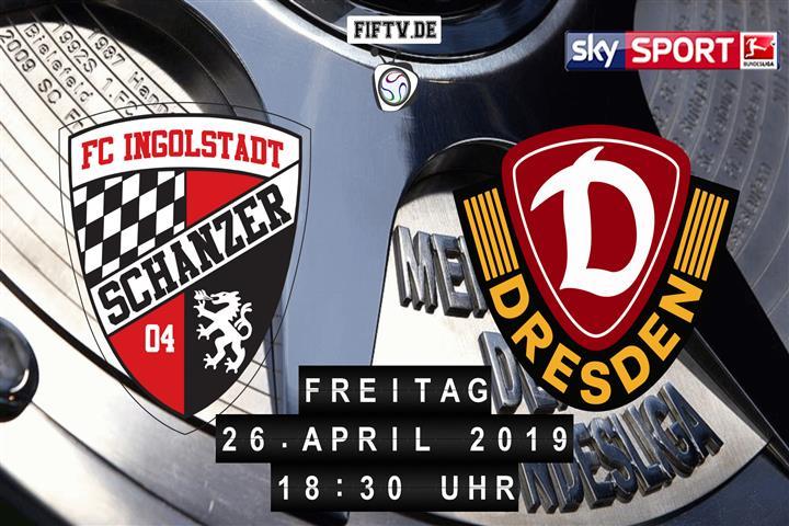 FC Ingolstadt - Dynamo Dresden Spielankündigung