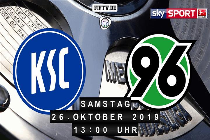 Karlsruher SC - Hannover 96 Spielankündigung