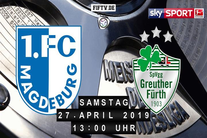 1.FC Magdeburg - SpVgg Greuther Fürth Spielankündigung