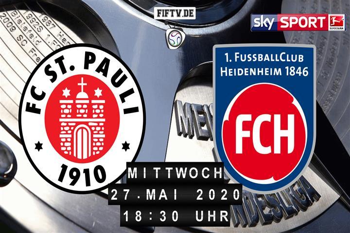 St Pauli Heidenheim Live Stream