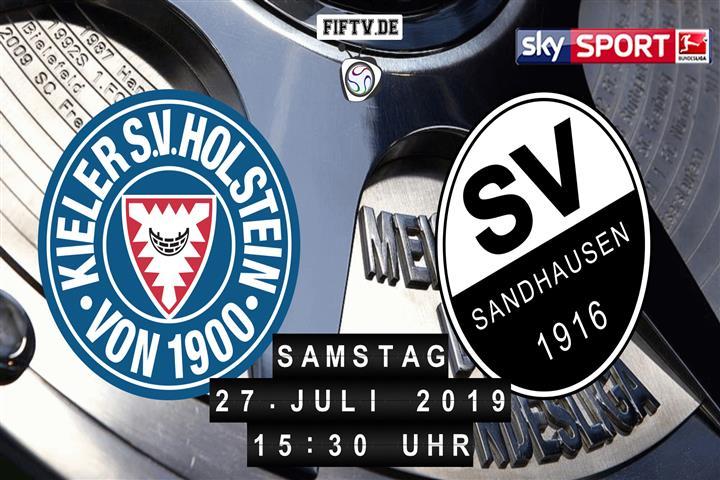 Holstein Kiel - SV Sandhausen Spielankündigung