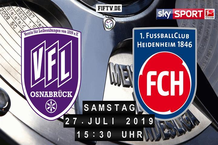 VfL Osnabrück - 1.FC Heidenheim Spielankündigung