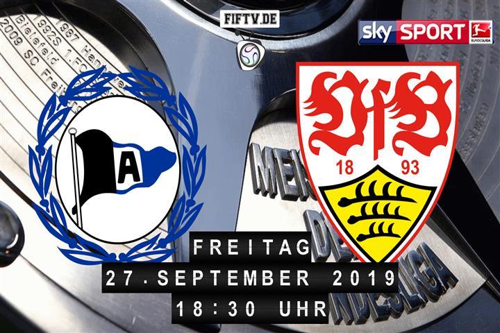 Arminia Bielefeld - VfB Stuttgart Spielankündigung
