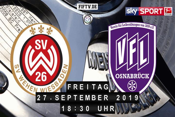 SV Wehen Wiesbaden - VfL Osnabrück Spielankündigung