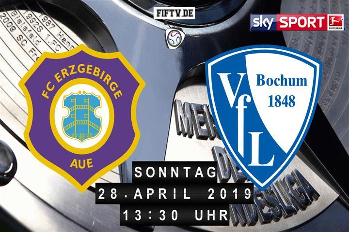 Erzgebirge Aue - VfL Bochum Spielankündigung