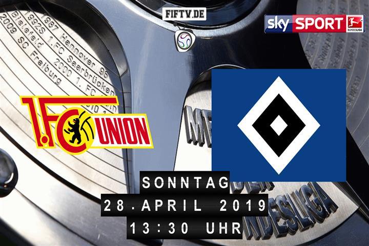 Union Berlin - Hamburger SV Spielankündigung