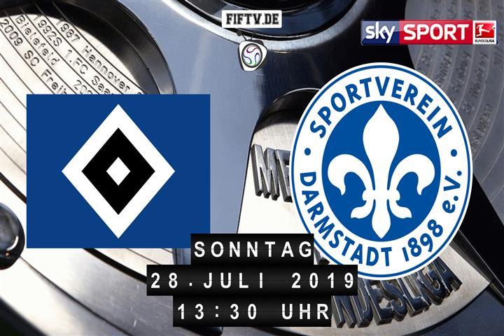 Hamburger SV - Darmstadt 98 Spielankündigung