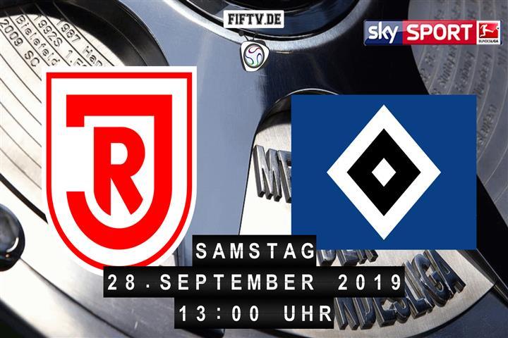Jahn Regensburg - Hamburger SV Spielankündigung