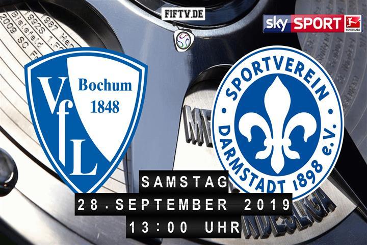 VfL Bochum - Darmstadt 98 Spielankündigung