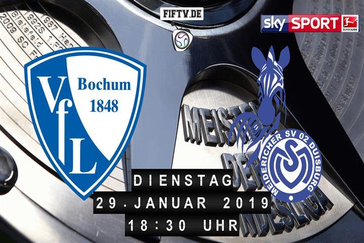 VfL Bochum - MSV Duisburg Spielankündigung
