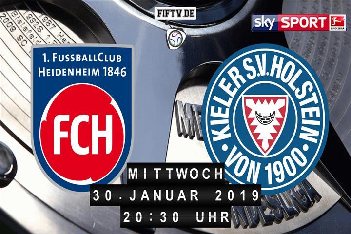 1.FC Heidenheim - Holstein Kiel Spielankündigung