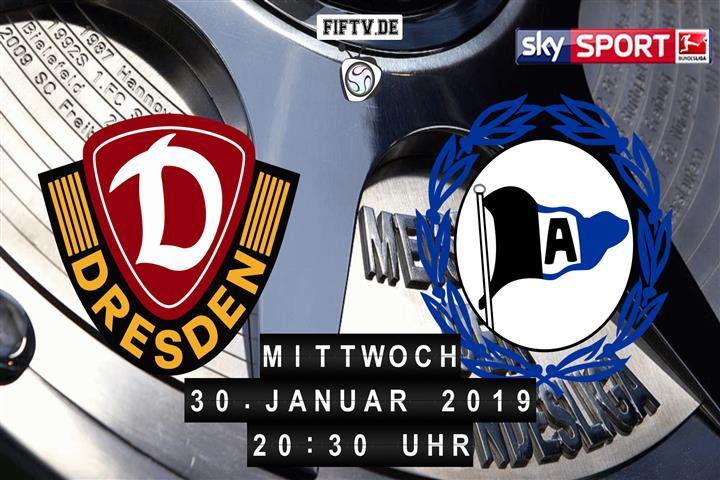Dynamo Dresden - Arminia Bielefeld Spielankündigung