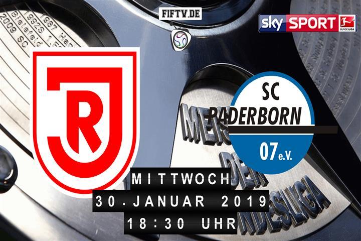 Jahn Regensburg - SC Paderborn 07 Spielankündigung