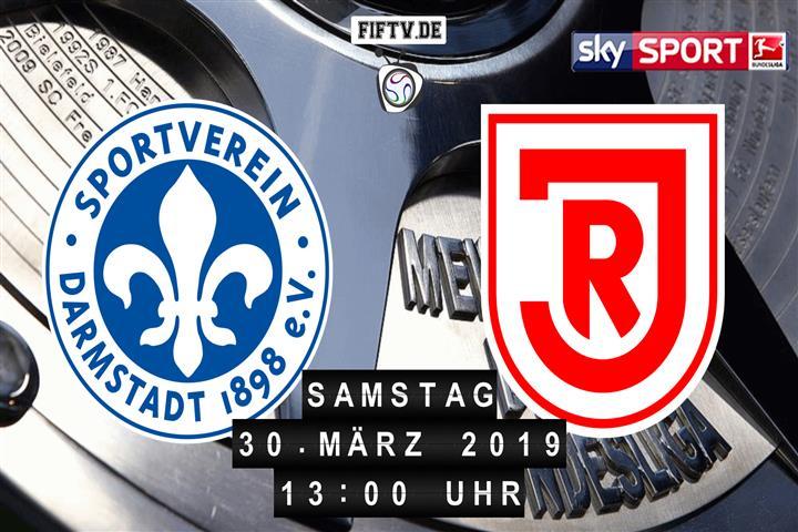 Darmstadt 98 - Jahn Regensburg Spielankündigung