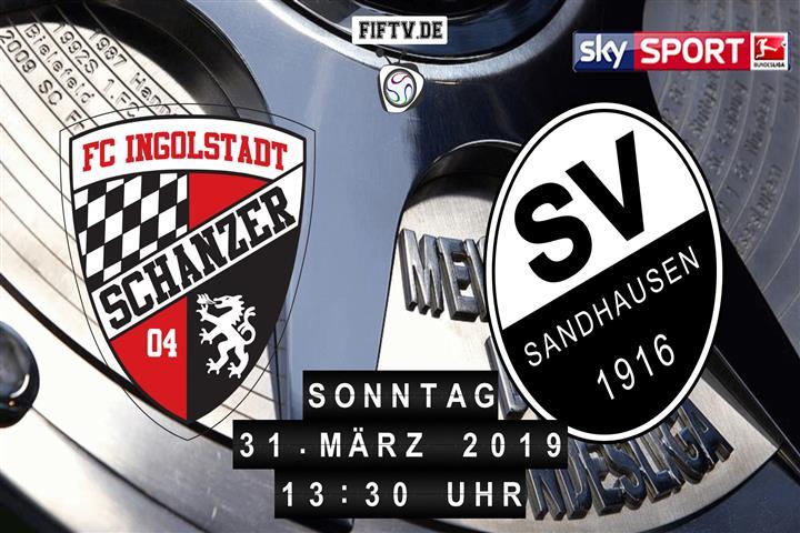 FC Ingolstadt - SV Sandhausen Spielankündigung
