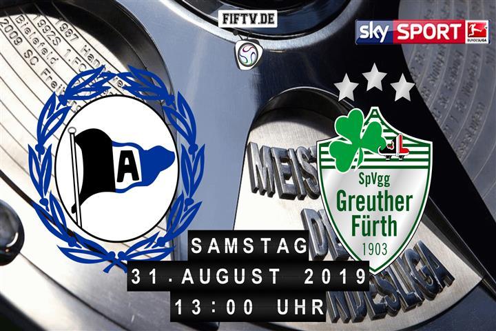 Arminia Bielefeld - SpVgg Greuther Fürth Spielankündigung