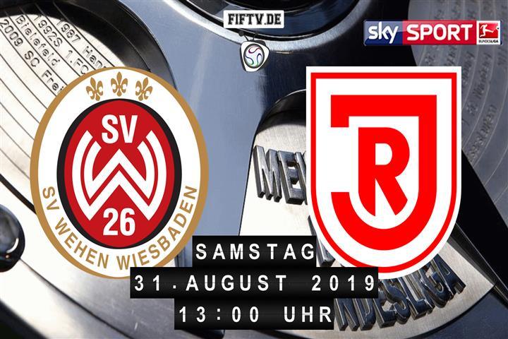SV Wehen Wiesbaden - Jahn Regensburg Spielankündigung