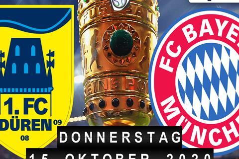 1.FC Düren - Bayern München